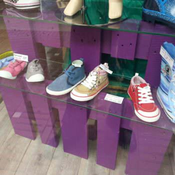 Shoe's Store Pallet Display