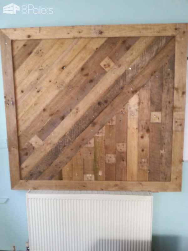 Shop Display Board Pallet Store, Bar & Restaurant Decorations