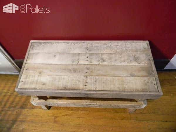 Decorative Indoor Pallet Bench Pallets