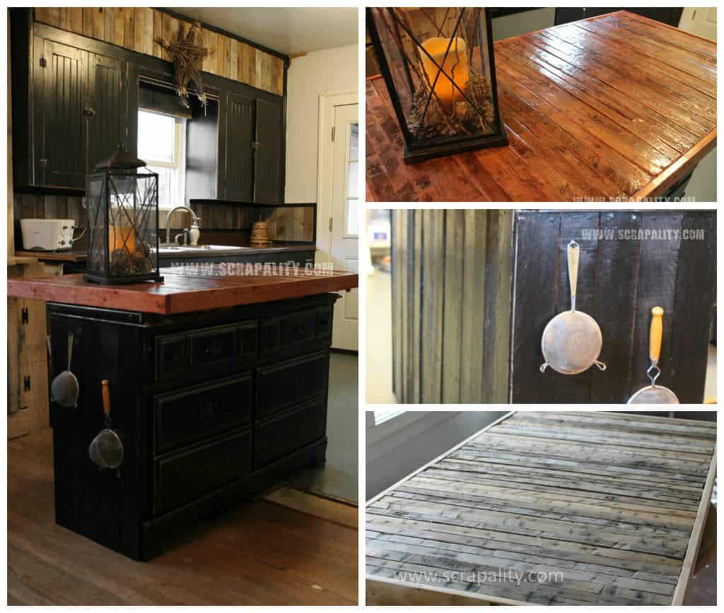 Kitchen Island Out Of Pallets: Kitchen Pallet Counter Top & Island • 1001 Pallets