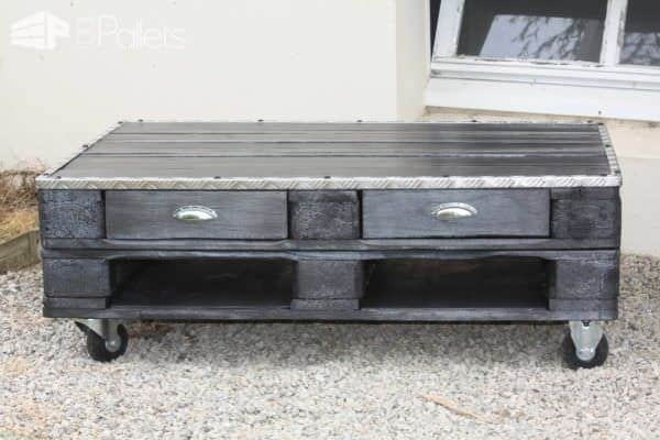 Meuble En Palette / Pallet Furnitures Pallet Coffee Tables