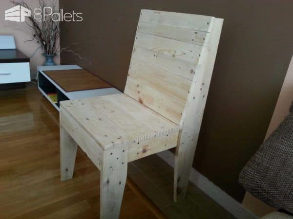 My First Project With Pallets: A Chair Pallet Benches, Pallet Chairs & Stools