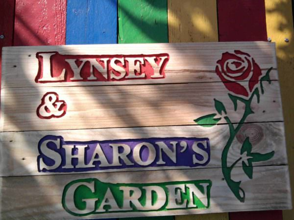 Pallet Garden Sign Pallet Wall Decor & Pallet Painting
