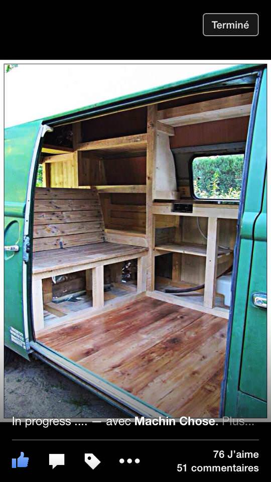 Refurbished Volkswagen T2 High Roof With Pallets 1001