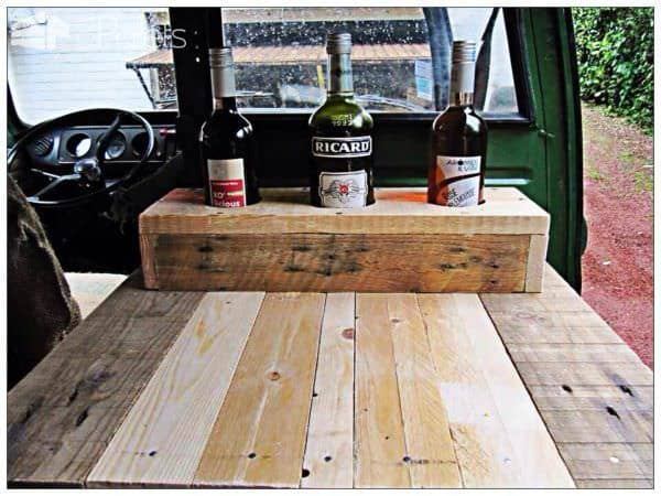 Refurbished Volkswagen T2 High Roof With Pallets Pallet Home Accessories