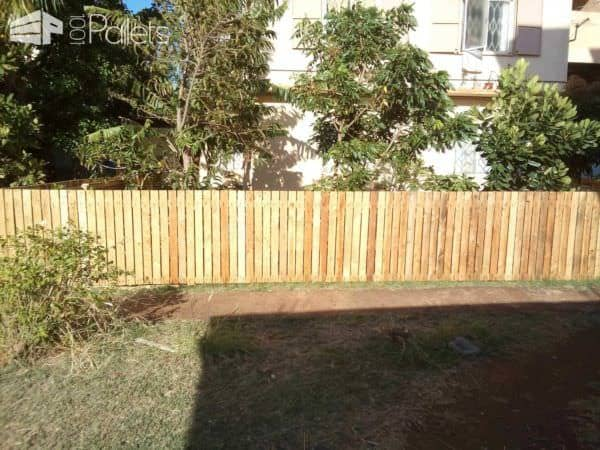 Backyard Pallets Fence Pallet Fences