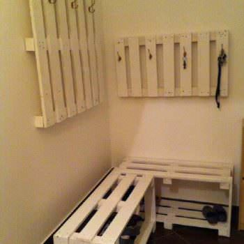 Coat Hanger & Shoe Rack