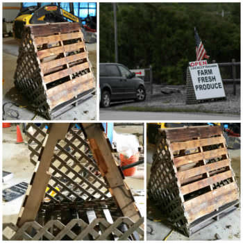 Pallet Roadside Sign