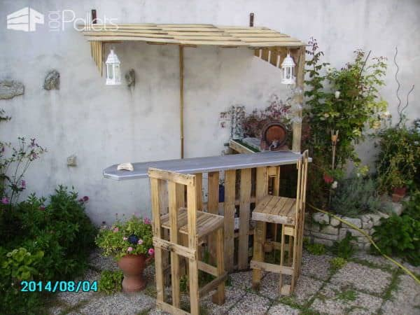 Recycled Pallets In My Garden Lounges & Garden Sets