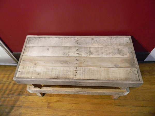 Decorative Indoor Bench Pallet Benches, Pallet Chairs & Pallet Stools