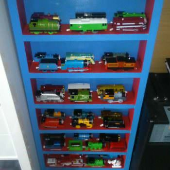 Thomas The Tank Engine Display Cabinet