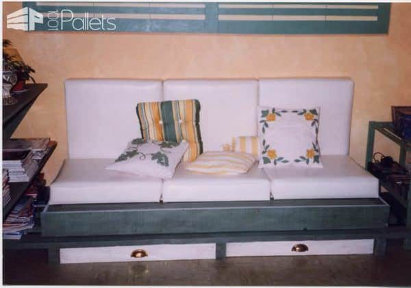 Some Of My Realizations With Wooden Pallets DIY Pallet Furniture