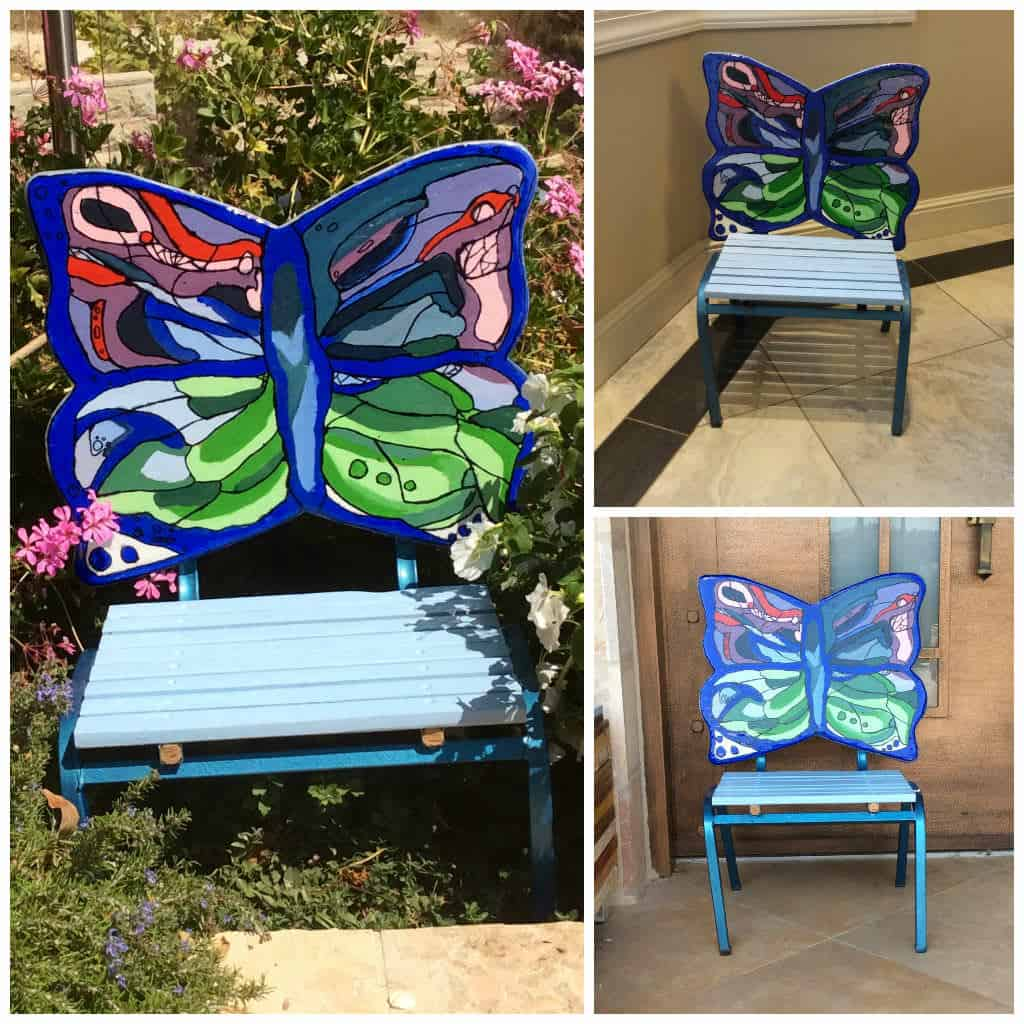 Butterfly metal chair - Butterfly Metal Chair 15
