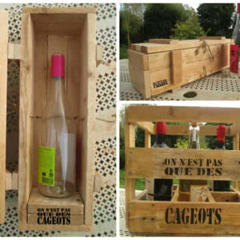 Caisses à Vin / Pallet Wine Box