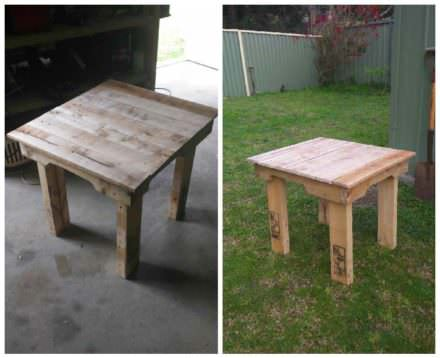 Camp Seat Side Table