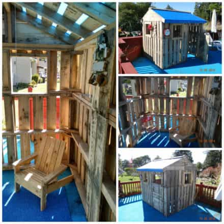 Daughters Pallet Playhouse