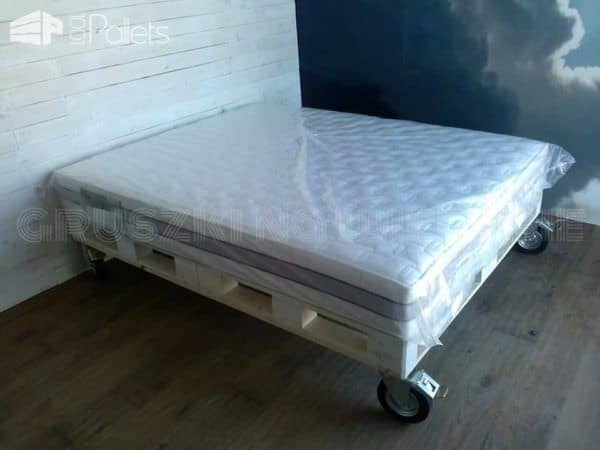 Just Like In Heaven With My Pallet Bed Pallet Beds, Pallet Headboards & Frames