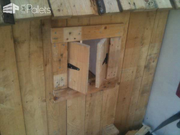 Kids Playhouse From Repurposed Pallets Fun Pallet Crafts for Kids Pallet Sheds, Pallet Cabins, Pallet Huts & Pallet Playhouses