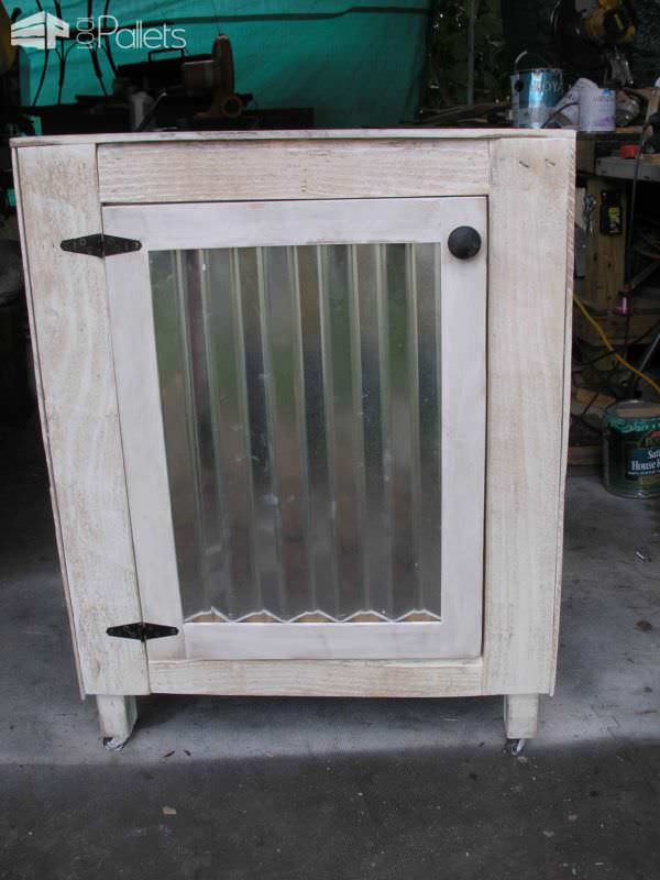 Pallet Coffee Station Pallet Cabinets & Pallet Wardrobes