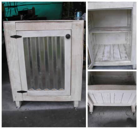 how to make wardrobe from pallets