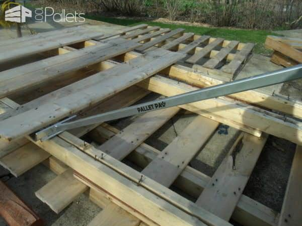 Pallet Paw: Pallet Disassembly Tool Pallet Flooring