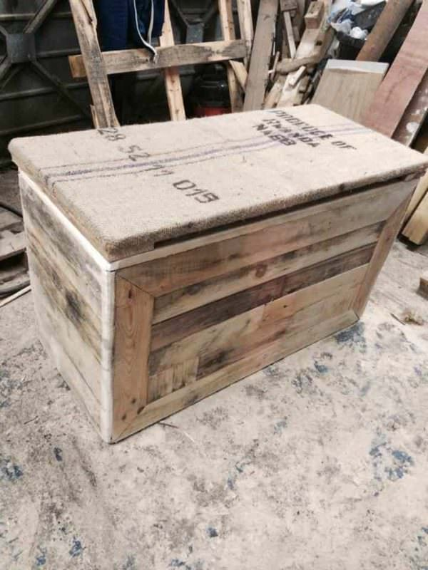 Pallet Wood Chest Pallet Boxes & Chests