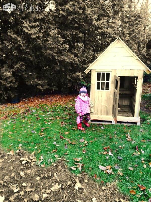 Pallets Kids Playhouse Pallet Sheds, Cabins, Huts & Playhouses