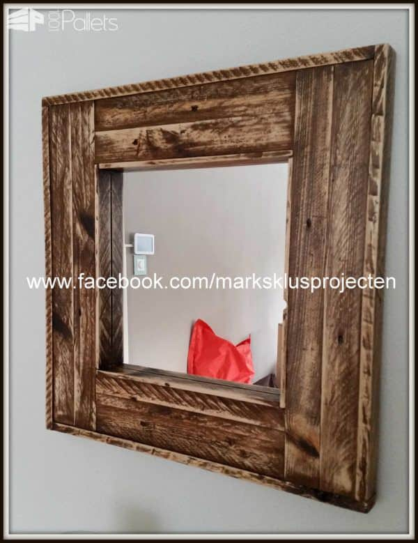 Pimp Up Your Mirrors Pallet Home Accessories