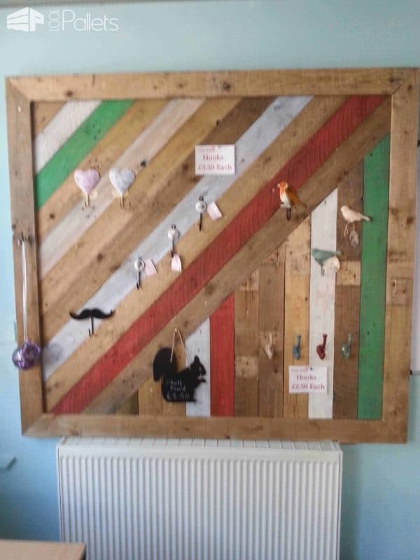 Shop Display Board Pallet Wall Decor & Pallet Painting