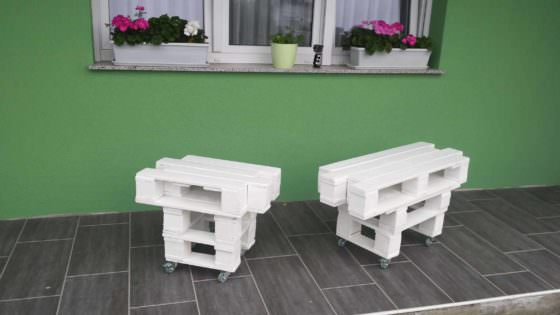 Zig Zag Pallet Coffee Table 1001 Pallets