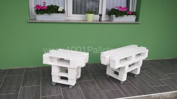 Zig-Zag Pallet Coffee Table Pallet Coffee Tables