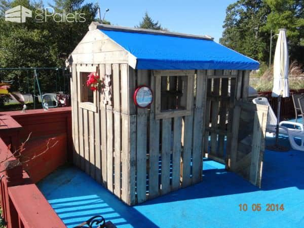 Daughters Playhouse Pallet Sheds, Pallet Cabins, Pallet Huts & Pallet Playhouses
