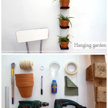 DIY: Vertical Urban Garden