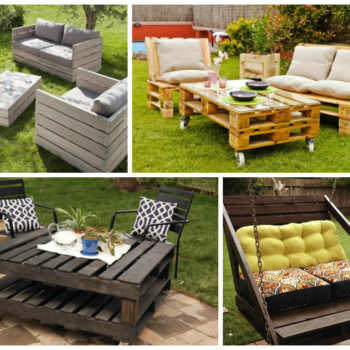Garden Furniture Ideas From Repurposed Pallets
