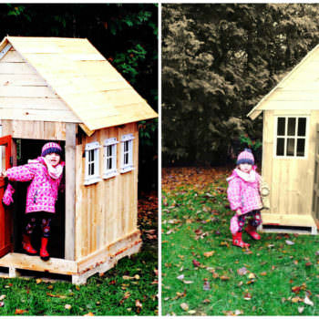 Pallets Kids Playhouse