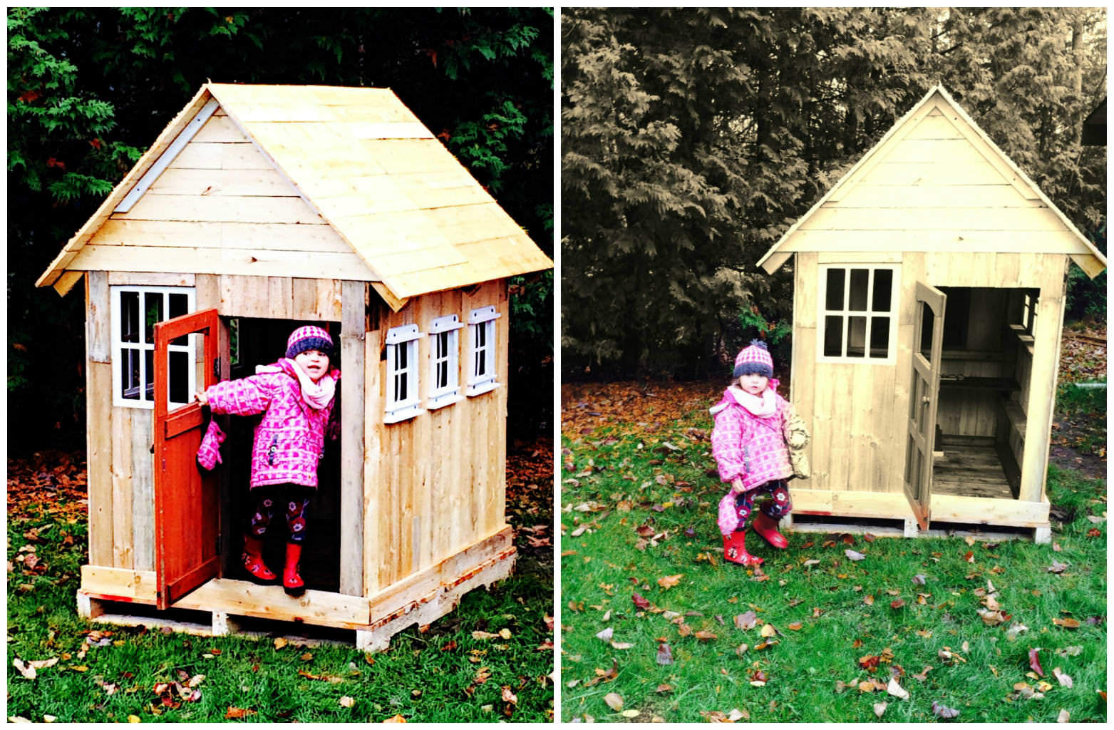 Pallets Kids Playhouse     1001 Pallets