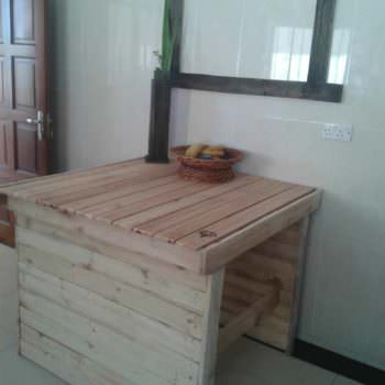 Pallets Kitchen Table