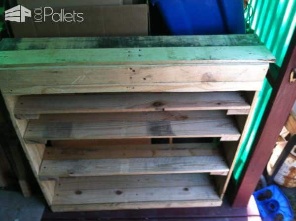 Pallet Shoe Rack Pallet Shelves & Pallet Coat Hangers