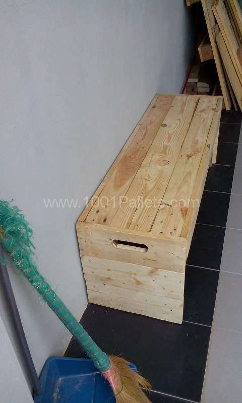 Two Seater Bench Pallet Benches, Pallet Chairs & Pallet Stools