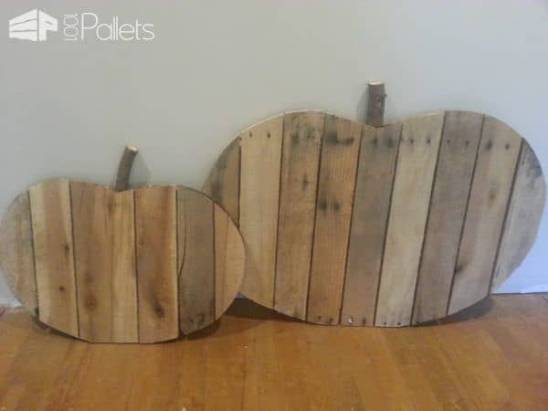 Decorative Pumpkin With Repurposed Pallets Pallet Home Accessories