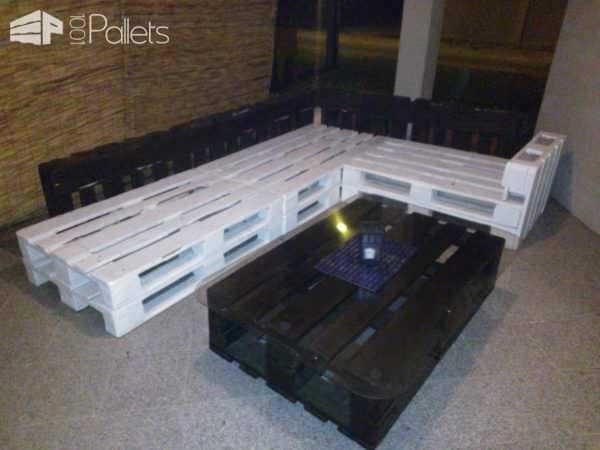 Pallets Terrace Lounge Lounges & Garden Sets