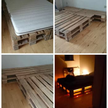 8 Pallets Bed