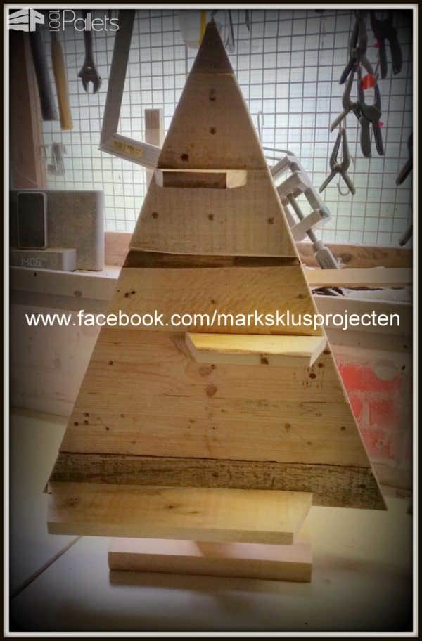 Christmas Trees Made From Recycled Pallets Pallet Home Accessories