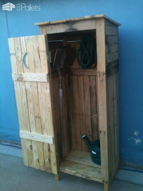 Mini Storage Shed - Outhouse Look • 1001 Pallets