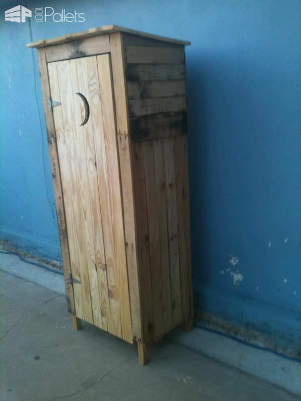 Mini Storage Shed Outhouse Look 1001 Pallets