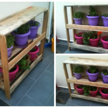 Pallet Rack For Plants