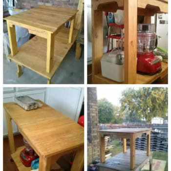 Pallet Tables & Work Bench