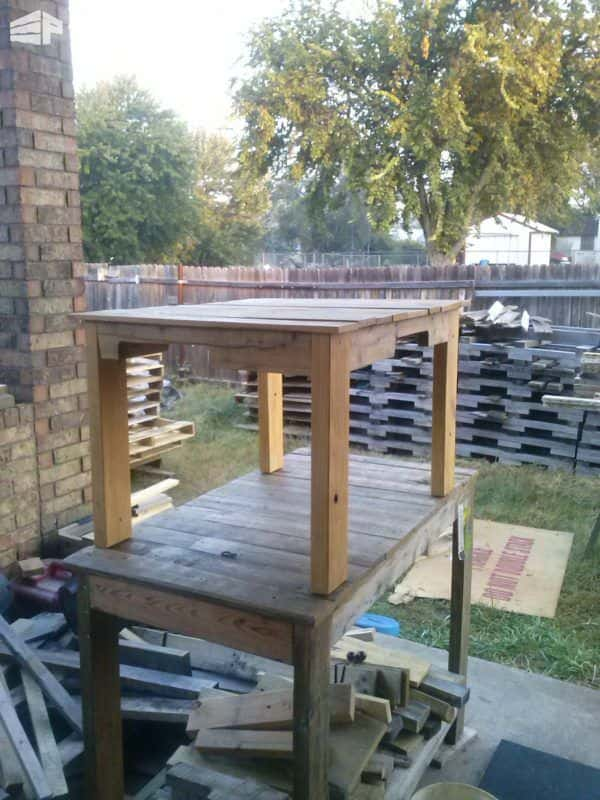 Pallet Tables & Work Bench Lounges & Garden Sets Pallet Desks & Pallet Tables