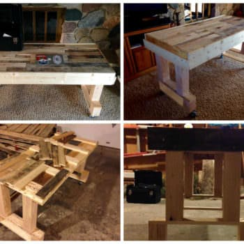 Pallet Workspace/Desk