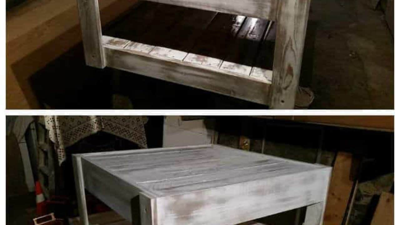 Table Basse En Formica reclaimed formica coffee table with pallet wood • 1001 pallets